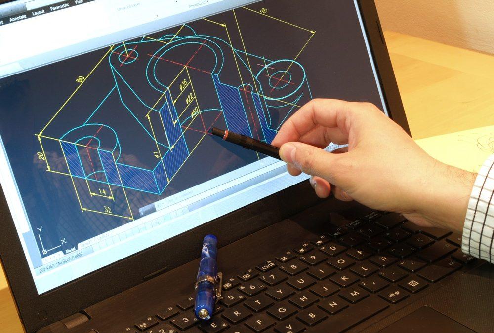 CAD Inventor® Autodesk ajuda engenheiros na criação de peças mecânicas 3D