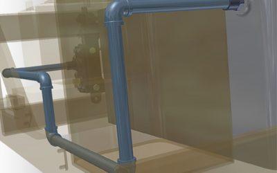 Crie diferentes sistemas de tubulações com CAD Inventor